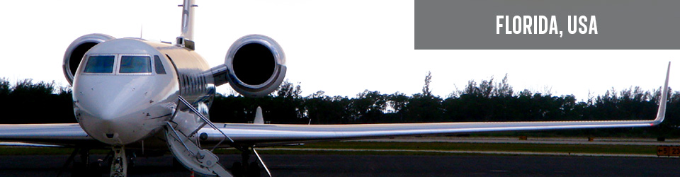 Advertised Business Jet Sale Info Within Florida